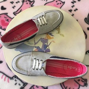 Keds Canvas Boat Shoes/Sneaker  Size 10